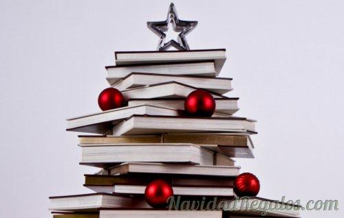 arbol navidad libros regalos