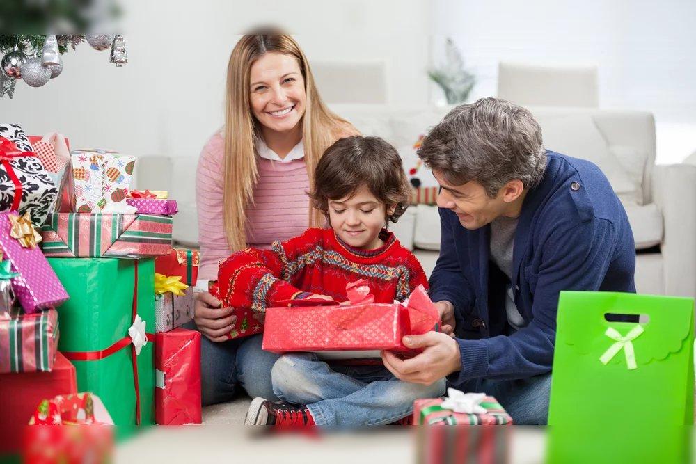 regalos navidad niños familia